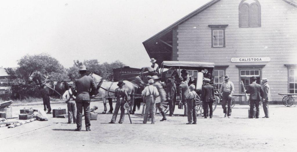Historic Photos Of Calistoga Brannan Cottage Inn Gallery